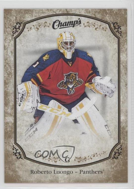 2015 16 Upper Deck Champs Gold Fronts 210 Roberto Luongo Short