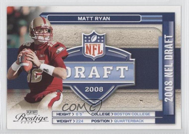 2008 Prestige NFL Draft 2 Matt Ryan Boston College Eagles