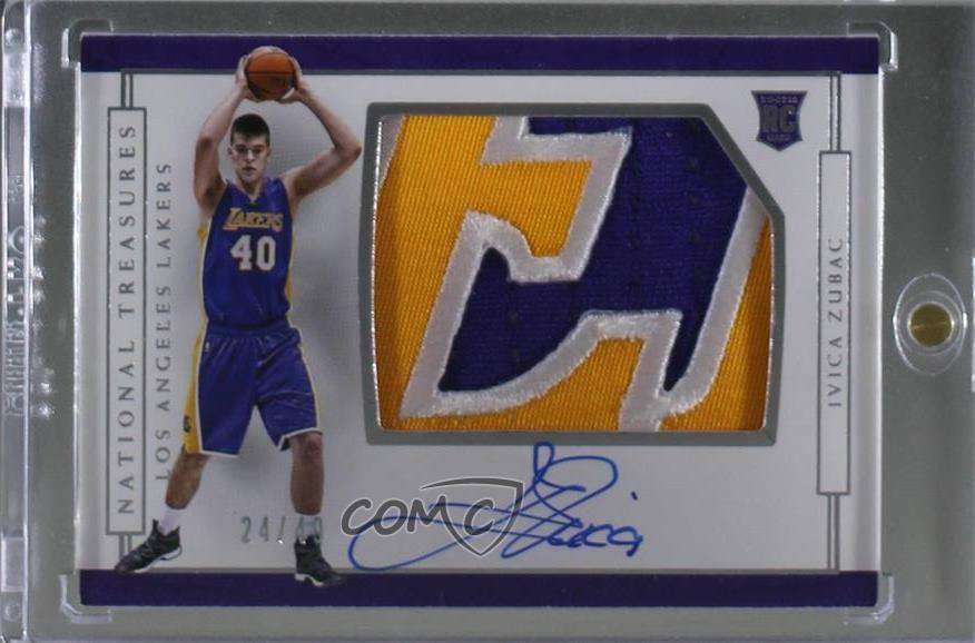 3bedd456f7b #173 Rookie Patch Autographs Horizontal - Ivica Zubac. Representative Image  - Select Specific Item above to see image of actual item