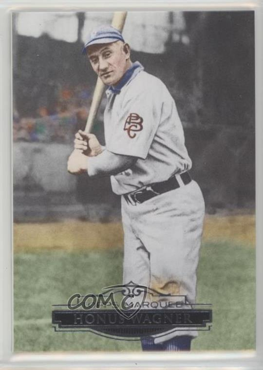 Details About 2011 Topps Marquee 97 Honus Wagner Pittsburgh Pirates Baseball Card
