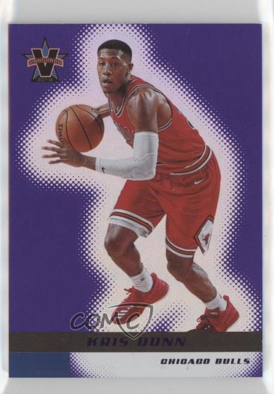 new styles 67a50 223d7 Details about 2017-18 Panini Vanguard Purple/25 #98 Kris Dunn Chicago Bulls  Basketball Card