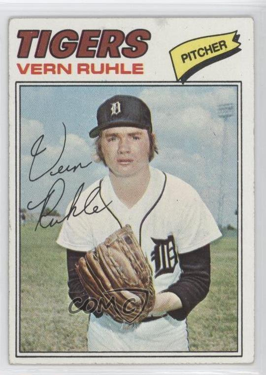 Details About 1977 Topps 311 Vern Ruhle Detroit Tigers Baseball Card
