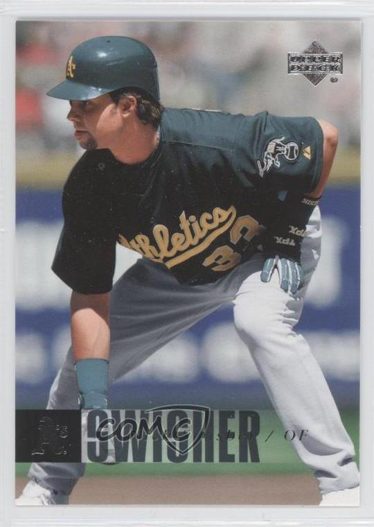 Details About 2006 Upper Deck 335 Nick Swisher Oakland Athletics Baseball Card