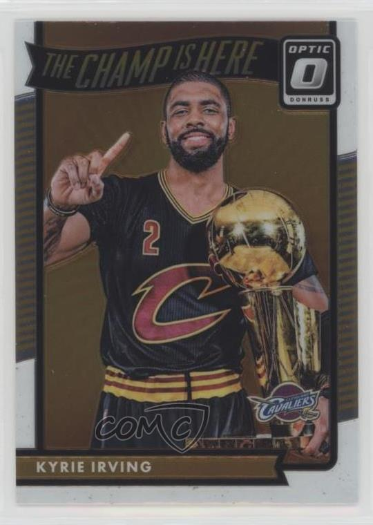 los angeles 2e056 1fb43 Details about 2016 Panini Donruss Optic The Champ is Here #3 Kyrie Irving  Cleveland Cavaliers