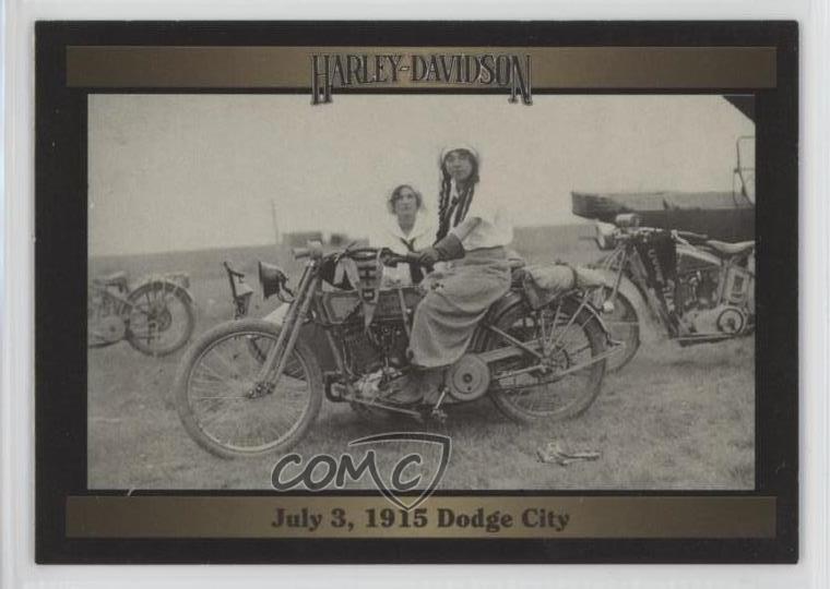 1993 Collect A Card Harley Davidson Series 207 July 3 1915 Dodge