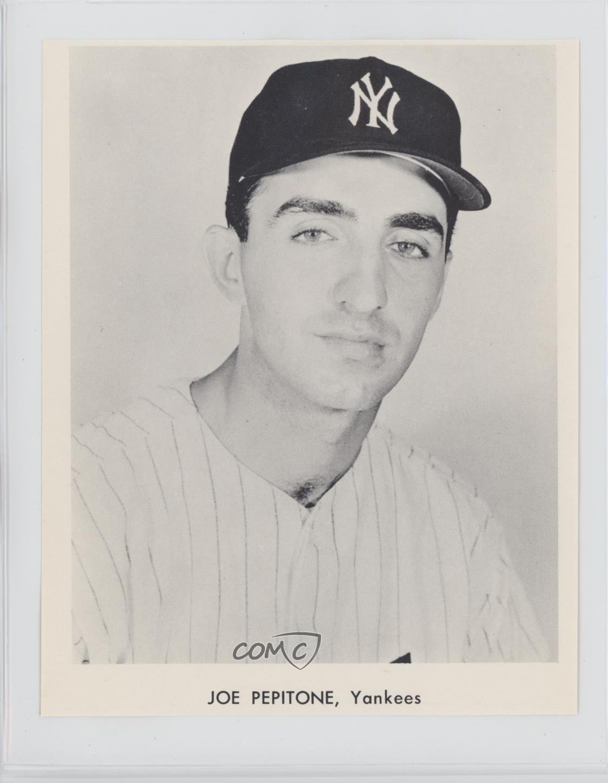 Details About 1964 Sports Service New York Yankees Joe Pepitone Baseball Card