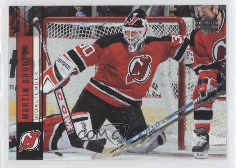 2006 07 Upper Deck 114 Martin Brodeur New Jersey Devils Hockey Card