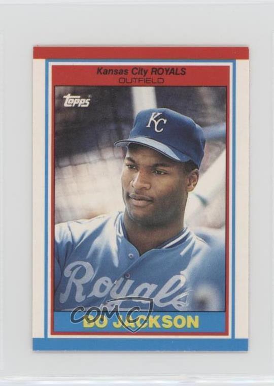Details About 1989 Topps United Kingdom Minis 43 Bo Jackson Kansas City Royals Baseball Card