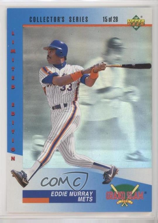 Details About 1993 Upper Deck Dennys Grand Slam 15 Eddie Murray New York Mets Baseball Card