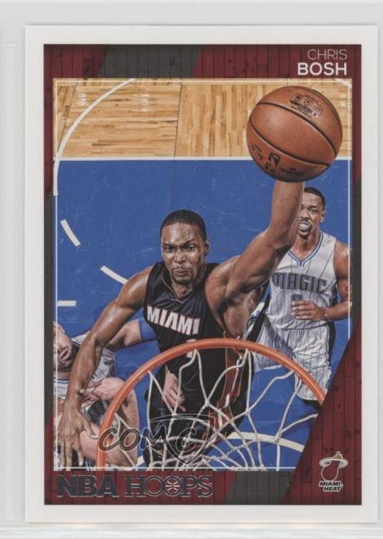 Details about 2016-17 Panini NBA Hoops #46 Chris Bosh Miami Heat Basketball  Card