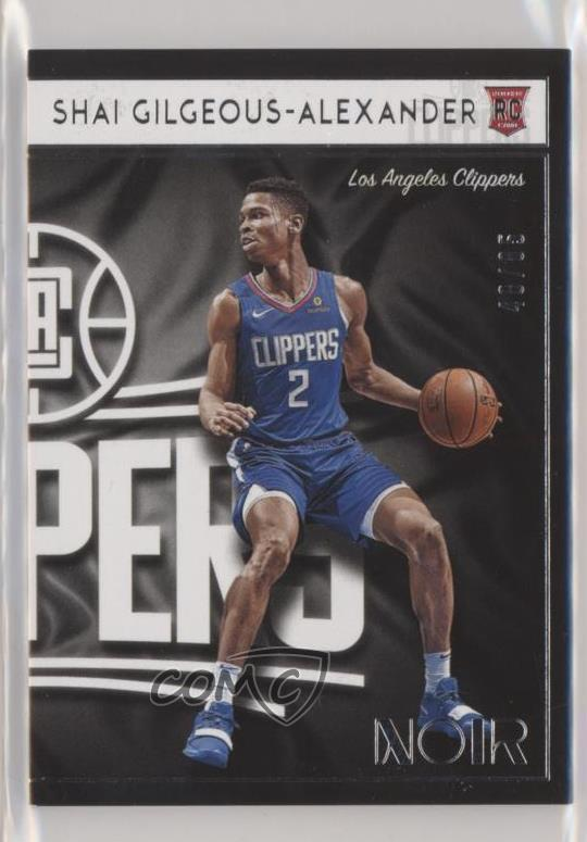 SP//85! 2018 PANINI INSTANT SHAI GILGEOUS-ALEXANDER RC CLIPPERS FIRST NBA ROOKIE