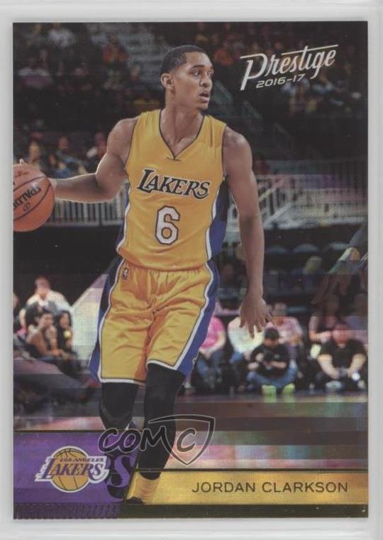huge selection of 3479e e1c82 Details about 2016-17 Panini Prestige Horizon #58 Jordan Clarkson Los  Angeles Lakers Card