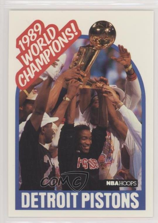 huge discount 5cb94 a67a6  353.1 1989 World Champions! (Detroit Pistons Team). Representative Image -  Select Specific Item above to see image of actual item