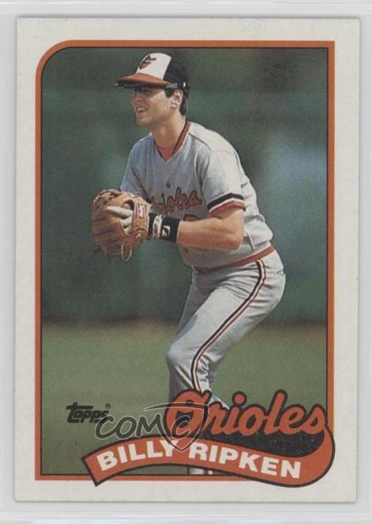 Details About 1989 Topps 571 Billy Ripken Baltimore Orioles Baseball Card