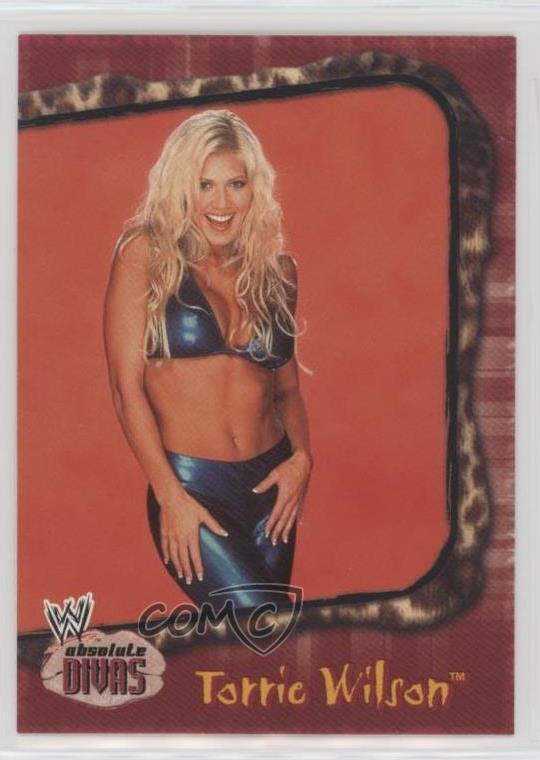2002 Fleer WWE Absolute Divas #22 Torrie Wilson