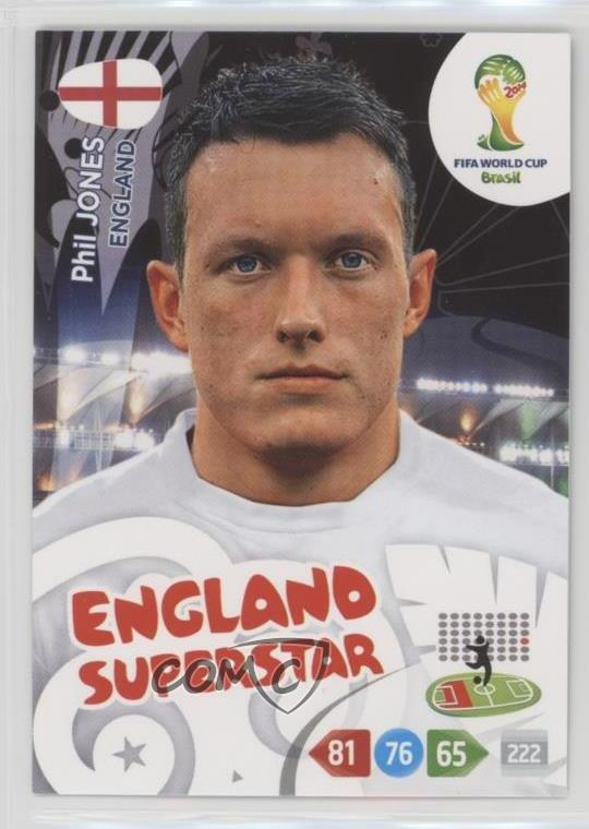 Losse kaarten spellen kaartspellen England Adrenalyn XL Road to 2014 World Cup Brazil Card Selection