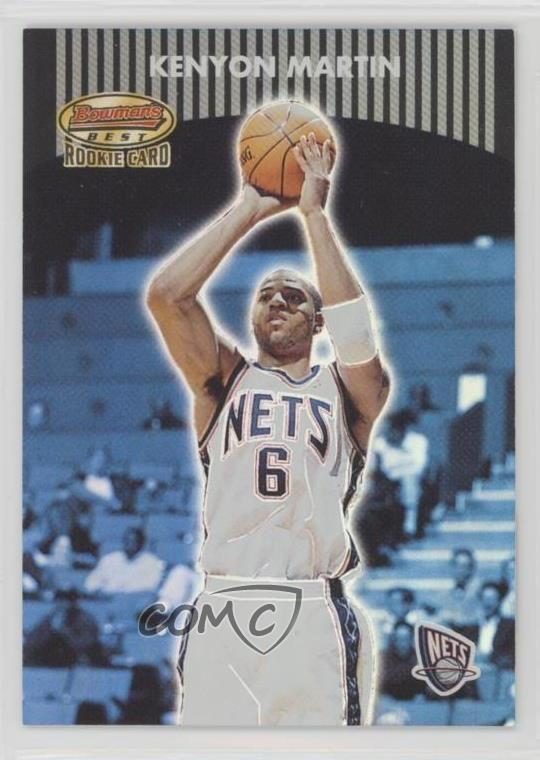 promo code e59a0 a25ab Details about 2000-01 Bowman's Best/499 #101 Kenyon Martin New Jersey Nets  RC Rookie Card