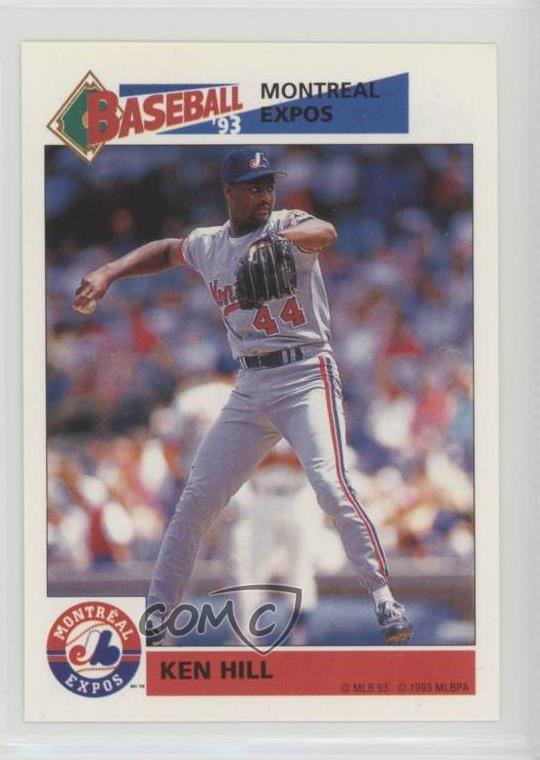 Details About 1993 Panini Album Stickers 223 Ken Hill Montreal Expos Baseball Card