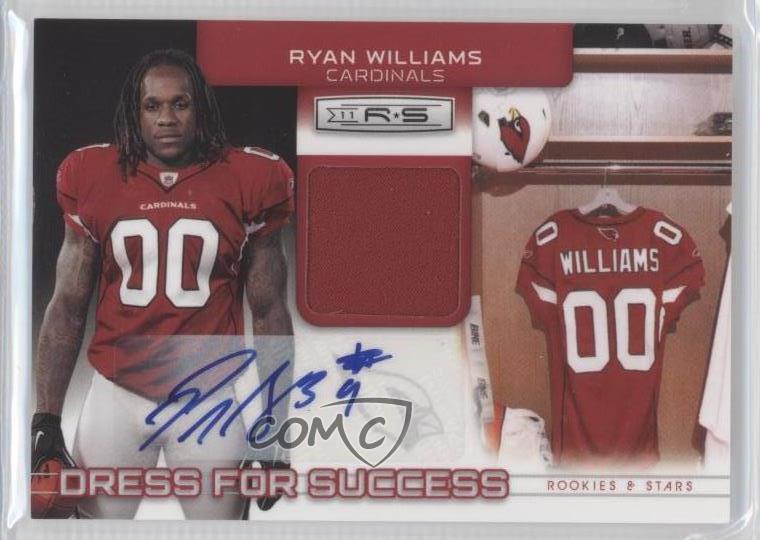 2011 Panini Rookies & Stars 3 Ryan Williams Arizona Cardinals Auto