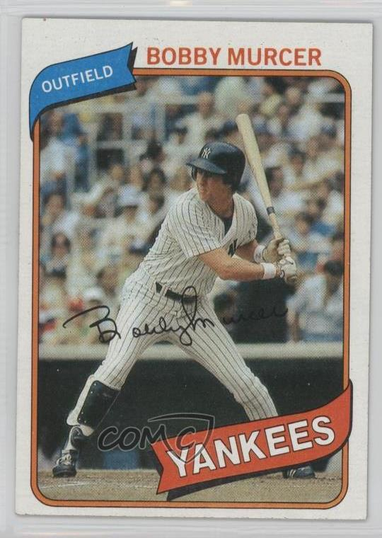 19b426db #365 Bobby Murcer. Representative Image - Select Specific Item above to see  image of actual item