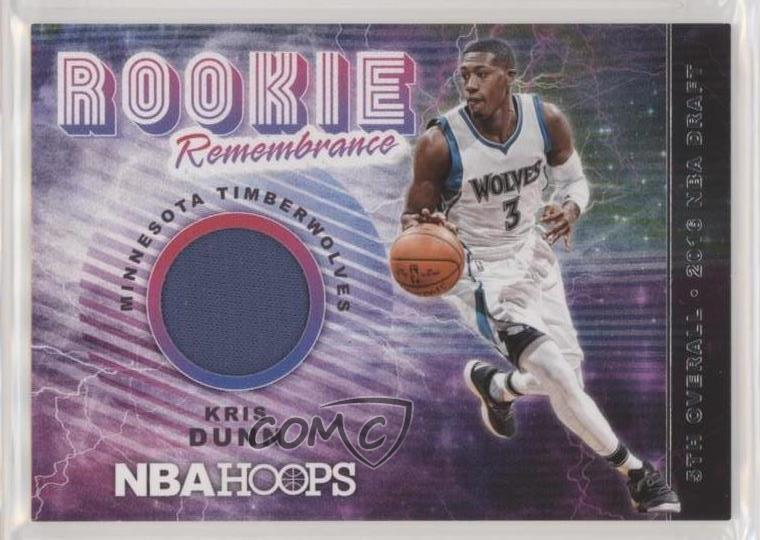 best loved 08849 a305f Details about 2018-19 Panini NBA Hoops Rookie Remembrance Winter #RR-KD  Kris Dunn Card