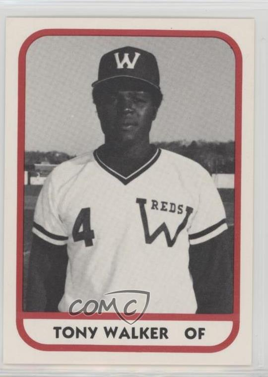 Details About 1981 Tcma Minor League 147 Tony Walker Waterbury Reds Rookie Baseball Card