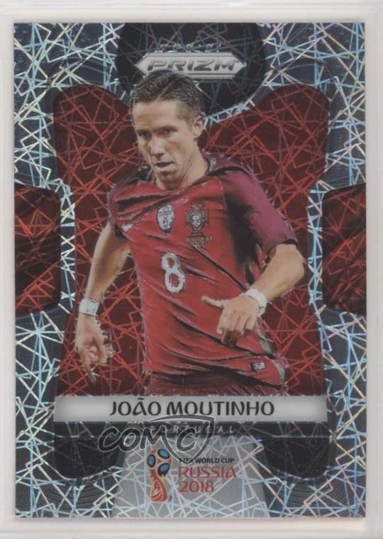 Panini Russie 2018 PRIZM Joao Moutinho Portugal Base Carte No 158
