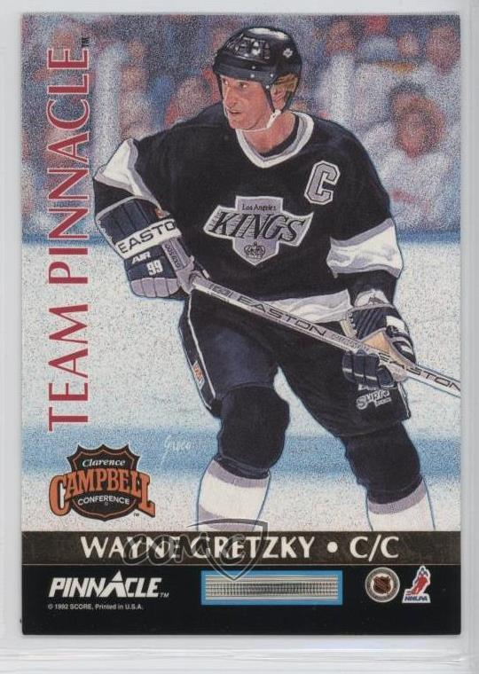 wholesale dealer f7343 e1c81 Details about 1992-93 Pinnacle Canadian Team #5 Eric Lindros Wayne Gretzky  Hockey Card
