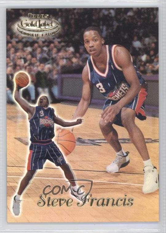 Details about 1999-00 Topps Gold Label Class 1 #87 Steve Francis Houston  Rockets Rookie Card