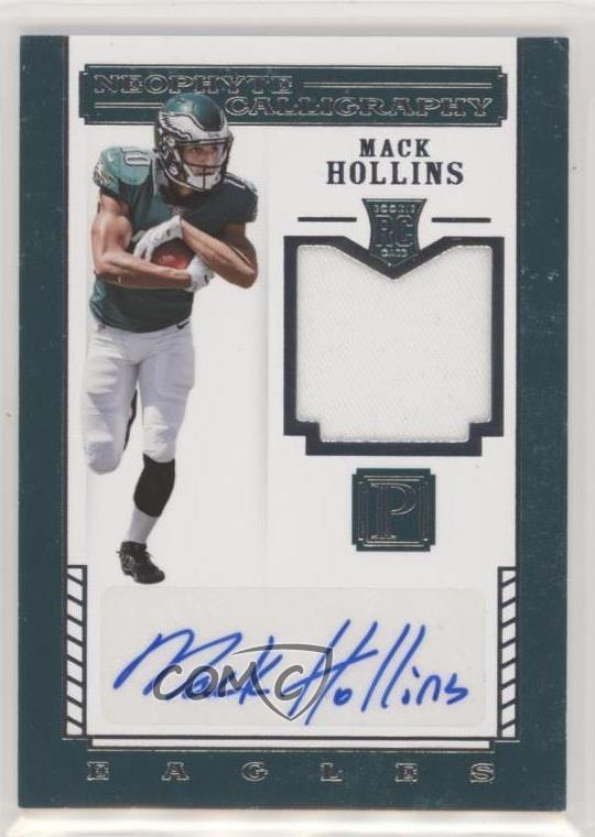Details about 2017 Panini Pantheon/149 #138 Mack Hollins Neophyte  Calligraphy Rookies Auto RC