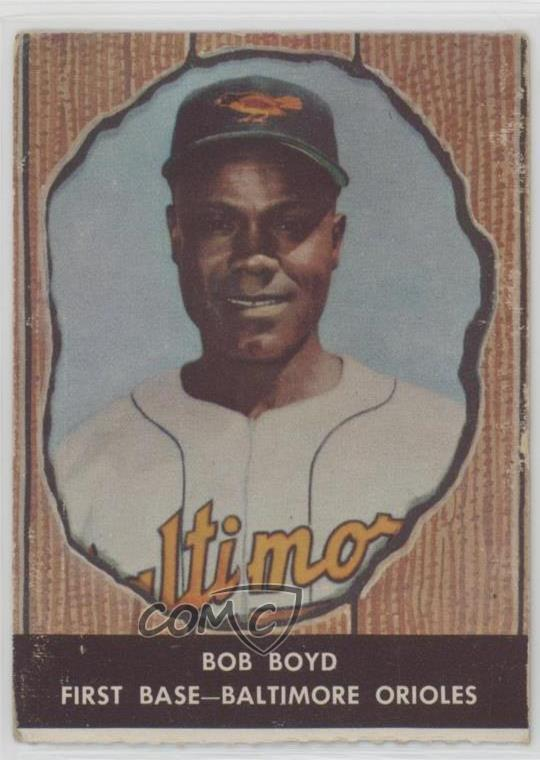 Details About 1958 Hires Root Beer Food Issue 75 Bob Boyd Baltimore Orioles Baseball Card