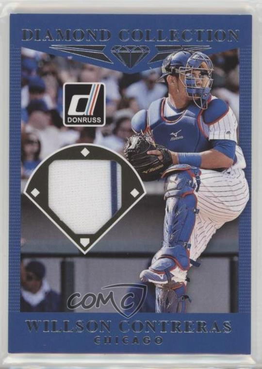 2017 Panini Donruss Diamond Collection Dc Wi Willson Contreras