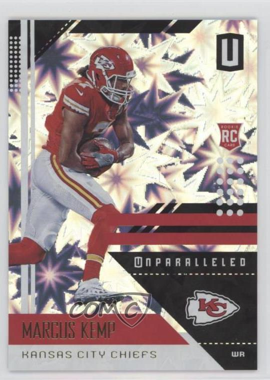 low priced 5afad 22b5c Details about 2018 Panini Unparalleled Impact/75 #99 Marcus Kemp Kansas  City Chiefs Rookie