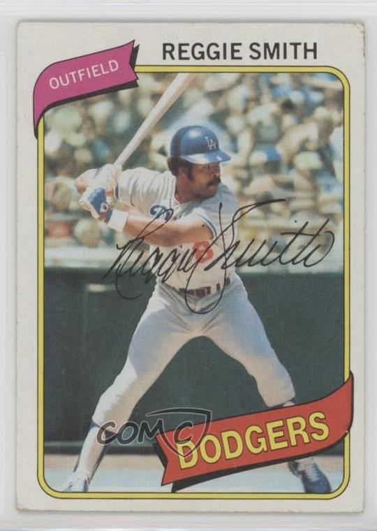 Details About 1980 Topps 695 Reggie Smith Los Angeles Dodgers Baseball Card
