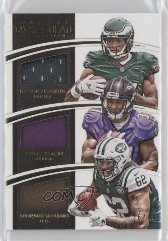 newest 32205 ea8ad Details about 2015 Immaculate Trios Jerseys ITJ-USC Leonard Williams Buck  Allen Nelson Agholor