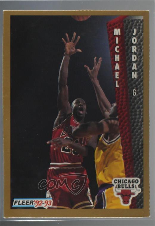 40357f05e5cb5d 1992-93 Fleer - Magazine Sheet  32 Michael Jordan. Representative Image -  Select Specific Item above to see image of actual item