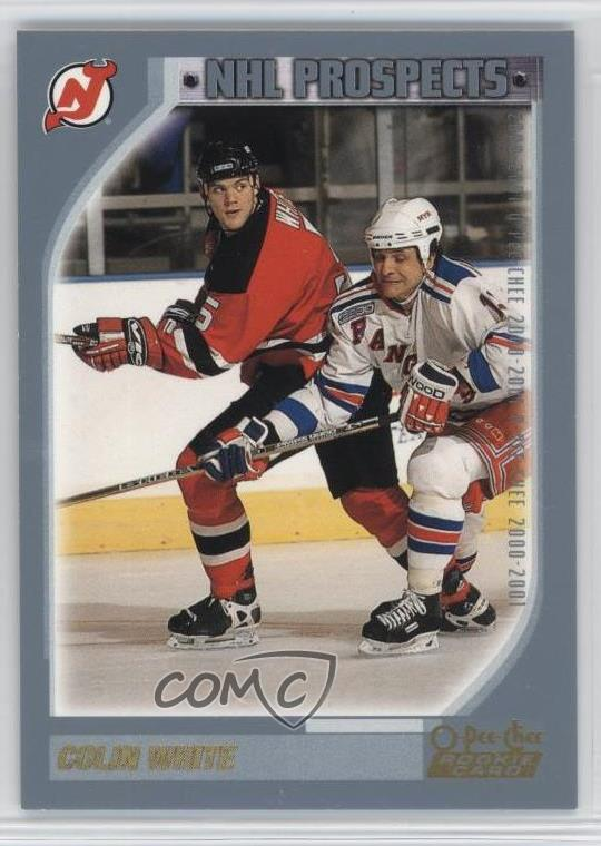 san francisco 53ab1 226cc Details about 2000-01 O-Pee-Chee #288 Colin White New Jersey Devils Rookie  Hockey Card