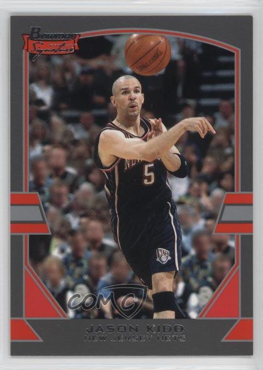 f597732db114 2003-04 Bowman Signature Silver  50 Jason Kidd New Jersey Nets ...