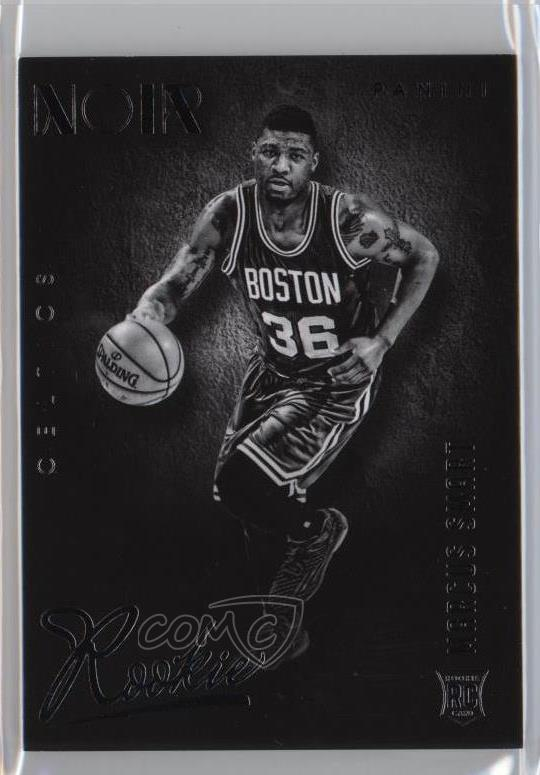 new product 0600e 40728 Details about 2014 Panini Noir/99 #71 Marcus Smart Black and White Rookies  Boston Celtics RC