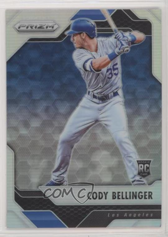 Details About 2017 Panini Chronicles Prizm 2 Cody Bellinger Los Angeles Dodgers Baseball Card