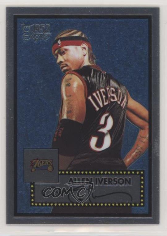 Verzamelkaarten, ruilkaarten 2005-06 Topps 1952 Style #112 Allen Iverson Philadelphia 76ers Basketball Card Verzamelingen