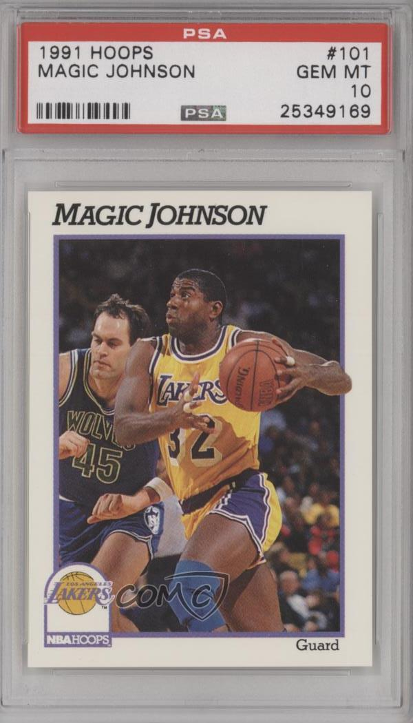 b33572679816  101 Magic Johnson. Representative Image - Select Specific Item above to  see image of actual item