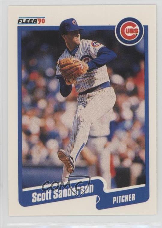 Details About 1990 Fleer 41 Scott Sanderson Chicago Cubs Baseball Card