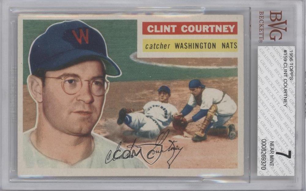 Brooklyn Dodgers Baseball Card White Back 1956 Topps #58.2 Ed Roebuck
