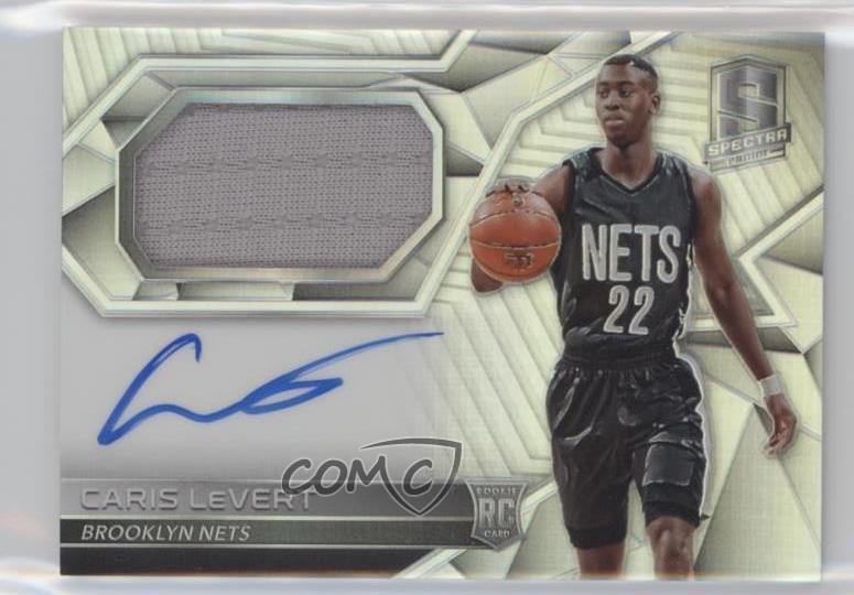 2bb984758  110 Rookie Jersey Autographs - Caris LeVert. Representative Image - Select  Specific Item above to see image of actual item