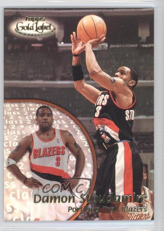 2033419ad27 #4 Damon Stoudamire. Representative Image - Select Specific Item above to  see image of actual item