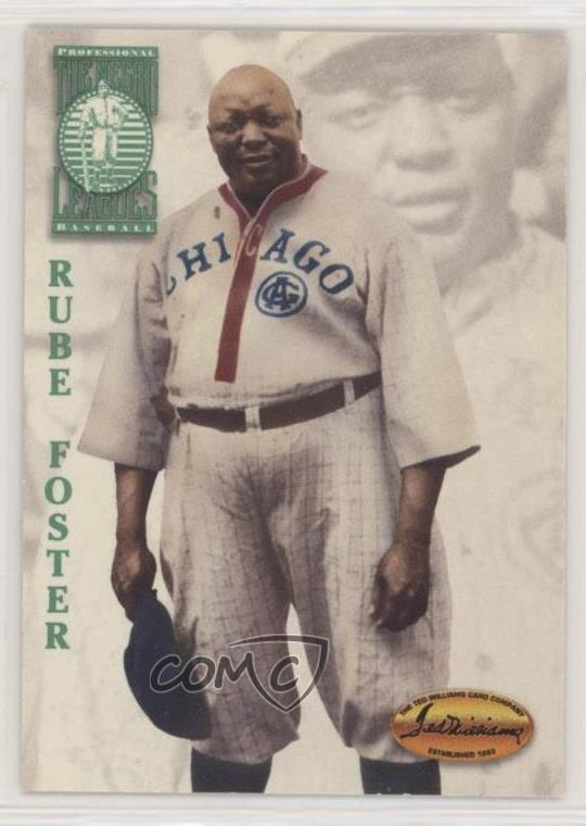Details About 1994 Ted Williams Card Company 105 Rube Foster Chicago American Giants Rookie