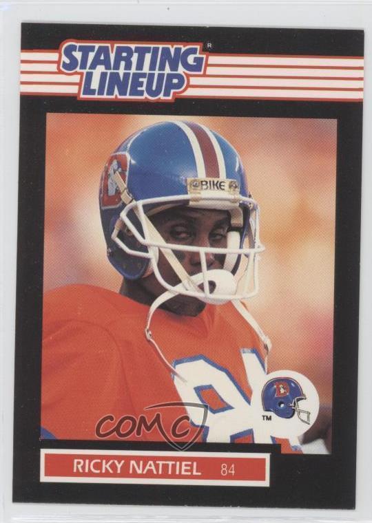 1989 Kenner Starting Lineup Ricky Nattiel