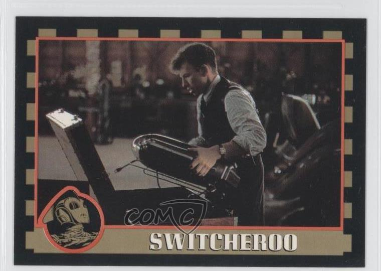 1991 Topps The Rocketeer #13 Switcheroo Non-sports Card 0b6 Up-To-Date Styling Trading Card Singles