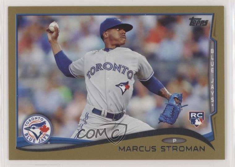 Verzamelingen Marcus Stroman 2014 Topps Update SP Photo Variation #US 197 Blue Jays RC Verzamelkaarten: sport